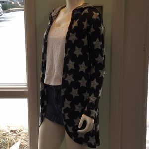 Sweaters - NEW Hooded Star Cardigan